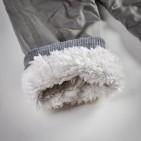 Фото: Серые штанишки утепленные мехом (артикул Z 60035-grey) - изображение 7