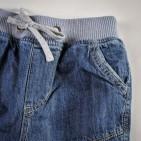 Фото: Джинсы утепленные на резинке (артикул Z 60114-jeans) - изображение 5