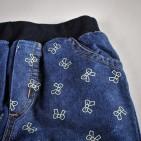 Фото: Джинсы утепленные с рисунками (артикул O 60033-jeans) - изображение 5