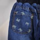 Фото: Джинсы утепленные с рисунками (артикул O 60033-jeans) - изображение 6