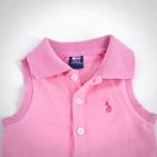 Фото: Платье с полосами на юбке (артикул RL 50009-pink) - изображение 5