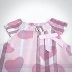 Фото: Платье с сердцами (артикул B 50018-pink) - изображение 5