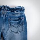 Фото: Джинсы с поясом резинкой (артикул Z 60013-jeans) - изображение 6