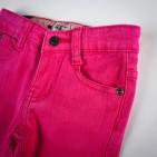 Фото: Джинсы укороченные с подворотами в клетку (артикул B 60004-pink) - изображение 5