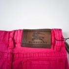 Фото: Джинсы укороченные с подворотами в клетку (артикул B 60004-pink) - изображение 8