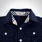 Фото: Рубашка с коротким рукавом  (артикул B 30011-deep blue) - изображение 5