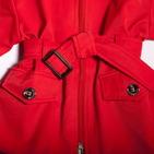 Фото: Куртка с поясом (артикул B 10004-red) - изображение 6