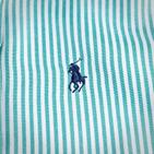 Фото: Рубашка в полоску (артикул RL 30015-green) - изображение 5