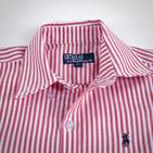 Фото: Рубашка в полоску (артикул RL 30006-red) - изображение 5