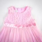 Фото: Платье с кружевом на груди (артикул O 50163-pink) - изображение 5