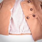 Фото: Пальто двубортное  (артикул Z 10002-beige) - изображение 6