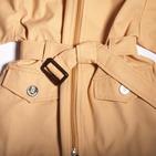 Фото: Куртка с поясом (артикул B 10004-beige) - изображение 6