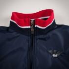 Фото: Куртка на молнии с манжетами (артикул O 10123-deep blue) - изображение 5