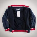 Фото: Куртка на молнии с манжетами (артикул O 10123-deep blue) - изображение 7