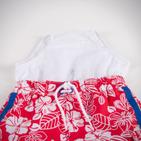 Фото: Mothercare.Пляжные шорты с лампасами (артикул S 10003-red) - изображение 5
