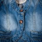 Фото: Жилет джинсовый на девочку (артикул Z 30050-jeans) - изображение 5