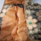 Фото: Куртка с цветочным принтом (артикул O 10131-yellow) - изображение 8