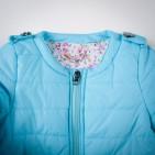 Фото: Синтепоновая курточка голубого цвета (артикул O 10074-blue) - изображение 6