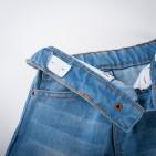 Фото: Джинсы с цветной подкладкой (артикул Z 60133-jeans) - изображение 7