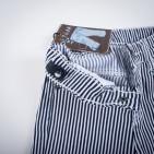 Фото: Стрейчевые полосатые штанишки (артикул Z 60143-black) - изображение 6