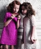 Фото: Платье с ажурной вязкой (артикул O 50193-apricot) - изображение 7