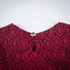 Фото: Платье кружевное. (артикул O 50193-red) - изображение 6
