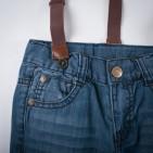 Фото: Джинсы с подтяжками (артикул Z 60146-jeans) - изображение 5