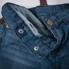 Фото: Джинсы с подтяжками (артикул Z 60146-jeans) - изображение 6