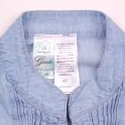 Фото: Сарафан джинсовый с плетеным поясом (артикул Gs 50033-jeans) - изображение 5