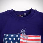 Фото: Толстовка с флагом США (артикул RL 20015-violet) - изображение 5