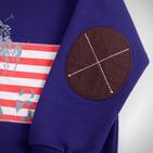 Фото: Толстовка с флагом США (артикул RL 20015-violet) - изображение 7