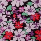 Фото: Брендовые лосины с цветочным принтом (артикул O 60051-white-red) - изображение 5