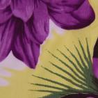 Фото: Приятные к телу лосины с крупными цветами и листьями (артикул O 60051-dark flowers) - изображение 5