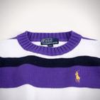 Фото: Свитер в полоску (артикул RL 20017-violet) - изображение 5
