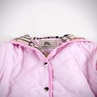 Фото: Куртка стёганая с капюшоном (артикул B 10011-light pink) - изображение 5
