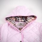 Фото: Куртка стёганая с капюшоном (артикул B 10011-light pink) - изображение 6