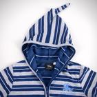 Фото: Кофточка с капюшоном на молнии (артикул B 30013-blue) - изображение 5