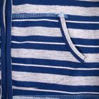 Фото: Кофточка с капюшоном на молнии (артикул B 30013-blue) - изображение 6