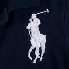 Фото: Футболка Polo с косыми полосами  (артикул RL 40004-deep blue) - изображение 6