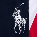 Фото: Футболка Polo с косыми полосами  (артикул RL 40004-deep blue) - изображение 7