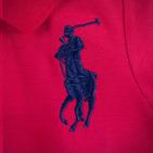 Фото: Футболка Polo с косыми полосами  (артикул RL 40004-red) - изображение 6