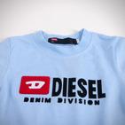Фото: Diesel. Футболка с принтом бренда  (артикул O 40010-light blue) - изображение 5