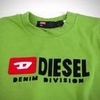 Фото: Diesel*. Футболка с принтом бренда  (артикул O 40010-green ) - изображение 5