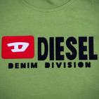 Фото: Diesel*. Футболка с принтом бренда  (артикул O 40010-green ) - изображение 6