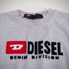 Фото: Diesel. Футболка с принтом бренда (артикул O 40010-light grey) - изображение 5