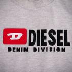 Фото: Diesel. Футболка с принтом бренда (артикул O 40010-light grey) - изображение 6