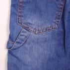 Фото: Шорты джинсовые с трикотажной резинкой и шнурком  (артикул O 60053-jeans) - изображение 7