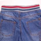 Фото: Шорты джинсовые с трикотажной резинкой и шнурком  (артикул O 60053-jeans) - изображение 8