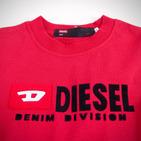 Фото: Diesel*. Футболка с принтом бренда  (артикул O 40010-red) - изображение 5