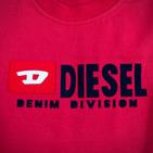 Фото: Diesel*. Футболка с принтом бренда  (артикул O 40010-red) - изображение 6